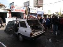Otomobildeki LPG Tankı Patladı Açıklaması 3 Yaralı