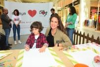 PINAR ALTUĞ - Pınar Altuğ, Aslı Tandoğan, Akasya Asıltürkmen Ve Bora Gencer Çocuklarla Resim Yaptı