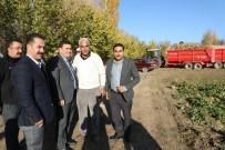 ULALAR - Vali Arslantaş'tan Çiftçilere Ziyaret