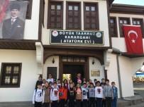 ATATÜRK EVİ - Afyonkarahisarlı Minik Öğrencilerden Atatürk Evi'ne Ziyaret