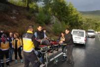 Antalya'da Trafik Kazası Açıklaması 1 Ölü, 2 Yaralı