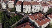 Bakırköy'de 1'İ Çocuk 3 Kişinin Cesedi Bulunan Bina Havadan Görüntülendi