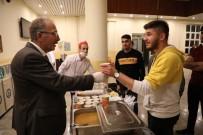 Bartın Üniversitesi Kütüphanesinde Öğrencilere Çorba İkramı