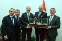 Başkanlardan Süleyman Soylu'ya Ziyaret