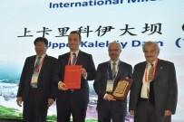 Çin'de En İyi Proje Seçilen Yukarı Kaleköy Barajı'nın Ödülü Verildi