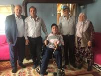 Engelli Bireye Başkandan Telerlekli Sandalye