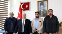 İHLAS - Gazetecilerden Erzincan İl Genel Meclis Başkanı Yıldız'a Ziyaret