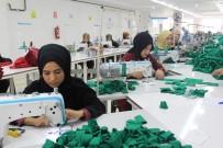 İlçede Kurulan Tekstil Atölyesi Kadınlara İş Kapısı Oldu
