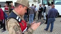 OKUL SERVİSİ - Jandarmadan Okul Güvenliği İçin 'Drone' İle Denetim
