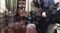 Kırklareli'nde 360 Litre Kaçak İçki Ele Geçirildi