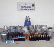 Kırklareli'nde Yılbaşı Öncesi 460 Litre Kaçak Şarap Ve Meyve Şırası Ele Geçirildi