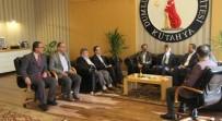 Kütahya Memur-Sen'den Rektör Uysal'a Ziyaret