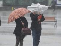 MERSIN - Meteoroloji'den 6 kente sağanak uyarısı