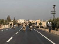 AFRİN - Türkiye Sınırı İle Afrin Arasına Yapılan Yol Açıldı