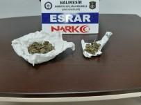 Balıkesir Polisi 4 Uyuşturucu Tacirini Yakaladı