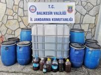 Bandırma'da Sahte İçki Operasyonu