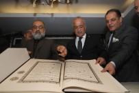 Hattat Hüseyin Kutlu, Atatürk Üniversitesinin Misafiri Oldu