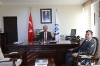 Kaymakam Alkal'dan Rektör Uzun'a Ziyaret
