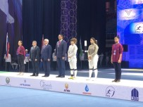 AZERI - Milli Eskrimci Nisanur Erbil'den Taşkent'te Gümüş Madalya