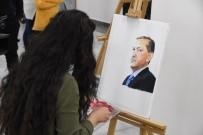 (Özel) Suriyeli Genç Kız, Savaşın Acılarını Resme Aktardı