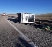 Sivas'ta Trafik Kazası Açıklaması 1 Ölü 6 Yaralı