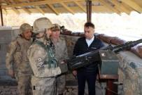 KARAKOL KOMUTANI - Vali Çağatay Ve Tuğgeneral İlbey'den Karakol Ziyareti