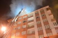Bahçelievler'de Beş Katlı Bir Bina Alevlere Teslim Oldu