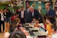 DEVE GÜREŞLERİ - Efeler Belediyesi Ulusal Satranç Turnuvası Başladı