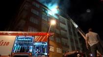 İstanbul'da Çatı Yangını