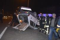 Tavşanlı'da Trafik Kazası Açıklaması 6 Yaralı
