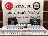Zeytinburnu'nda Polis Meyve Sandıkları Arasında Uyuşturucu Ele Geçirdi