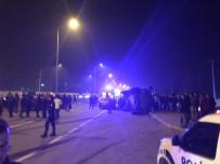 Iğdır'da Zırhlı Polis Aracı Otomobille Çarpıştı Açıklaması 5 Yaralı