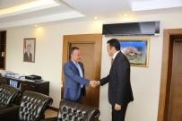 SİYASAL BİLGİLER FAKÜLTESİ - Kaymakam Bülent Karacan Göreve Başladı