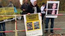 MISIR CUMHURBAŞKANI - Mısır Cumhurbaşkanı Sisi Almanya'da Protesto Edildi