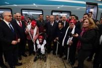 HALKBANK - Bakan Turhan, 20 Özel Gereksinimli Bireyi YHT İle Eskişehir'e Uğurladı