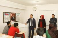 SİNAN ASLAN - Kaymakam Aslan'dan 'Sürekli Eğitim Merkezi'ne Ziyaret