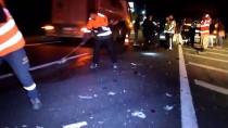 Konya'da Tır Otomobille Çarpıştı Açıklaması 1 Ölü, 2 Yaralı