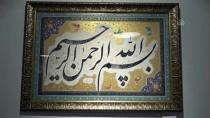 AYETLER - Şirazlı Sanatçılar Hat Ve Tezhip Eserlerini İstanbulluların Beğenisine Sundu