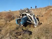 Yozgat'ta Traktör Devrildi Açıklaması 1 Kişi Yaralandı