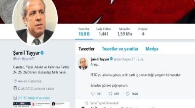 AK Partili Tayyar'dan Arınç'a tepki