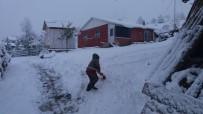 Artvin'in Yüksek Kesimlerine Kar Yağdı