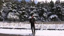 KAR TOPU - Beyaz Örtüyle Kaplanan Palandöken'de Kış Güzelliği