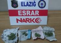 Elazığ'da Uyuşturucu İle Mücadele Açıklaması 3 Tutuklama