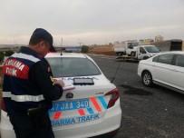 Jandarma Ekipleri Droneli Yol Uygulaması Yaptı