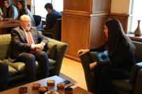 Milletvekili Karaaslan'dan Rektör Aydın'a Tebrik