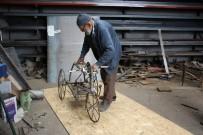 ÇAYıRHAN - (Özel) 93 Yaşındaki Mehmet Dede, Camiye Gitmek İçin  Bisiklet Yaptı