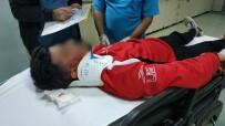 Samsun'da Trafik Kazası Açıklaması 4 Yaralı