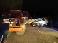 Tekirdağ'da Feci Kaza Açıklaması 2 Yaralı