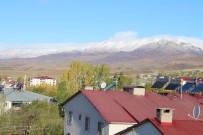 Varto'nun Yüksek Dağlarına Yılın İlk Karı Düştü