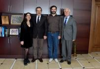 DANS YARIŞMASI - Azmiyle Örnek Olan Derya'dan Başkan Ataç'a Ziyaret